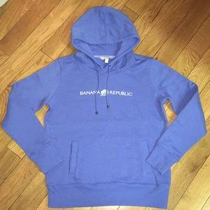 Banana Republic blue hoodie